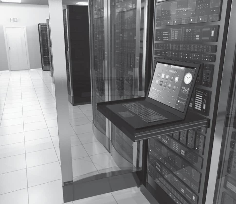 Flair Data History Server Room
