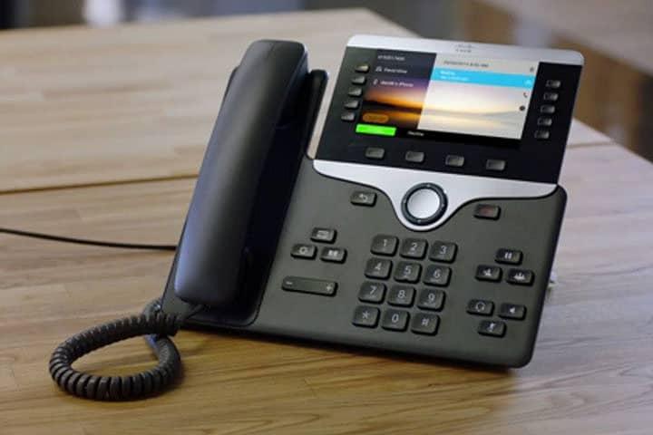 Cisco 8800 Series VOIP Phone